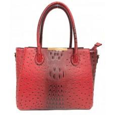 8058  Fashion Ostrich Handbag