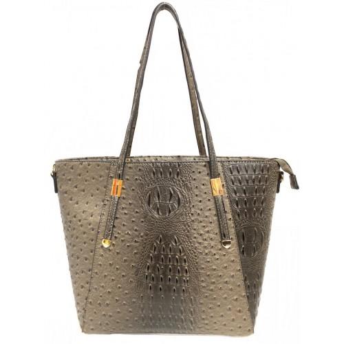 8059 Fashion Ostrich Handbag